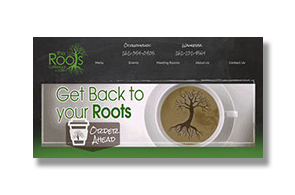 roots coffee bar Waukesha Oconomowoc