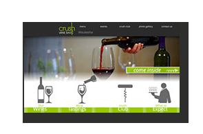 crush wine bar tasting downtown Waukesha