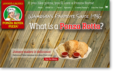 Ponza Rottas Jimmy Grotto Italian food